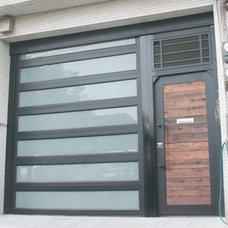 Eclectic Garage Doors And Openers by YI CHENG DOORS CO., LTD