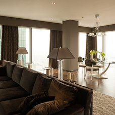 Asian Living Room by S-style