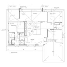 Floor Plan by Bud Dietrich, AIA