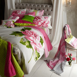 "Designers Guild ""Charlottenberg"" Bed Linens -"