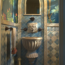 Mediterranean Bathroom by ANN SACKS