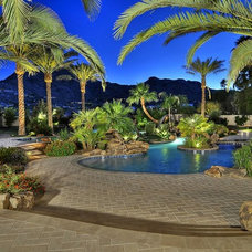 Mediterranean Patio by Cullum Homes and  Renovations
