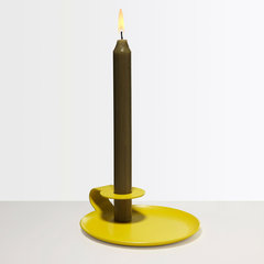 modern candles and candle holders by Unison Home