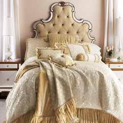 """Dian Austin Couture Home """"Champs Elysees"""" Bed Linens -"""