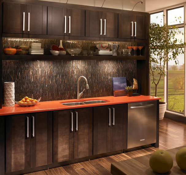 Contemporary  Contemporary Kitchen Tile