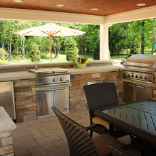 Traditional Patio by Exscape Designs