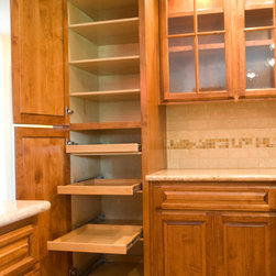Cabinet Accessories - Adjustable pullout Drawers,