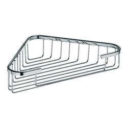 WS Bath Collections - Filo 50011 Shower Basket - Filo by WS Bath Collections Shower Basket 9.6 x 5.7 in Polished Chrome