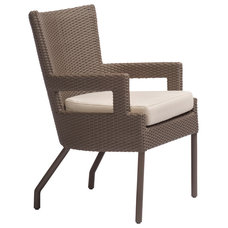 Traditional Outdoor Chairs by McGuire Furniture Company