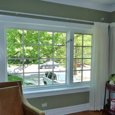 Traditional Living Room by Chicago Window & Door Solutions