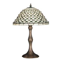 "Meyda Lighting - Meyda Lighting 52010 20""H Diamond and Jewel Table Lamp - Meyda Lighting 52010 20""H Diamond and Jewel Table Lamp"