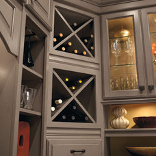 Contemporary Wall Shelves by MasterBrand Cabinets, Inc.
