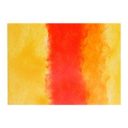 Liora Manne - Liora Manne Ombre Flame Placemats, Set of 4 -