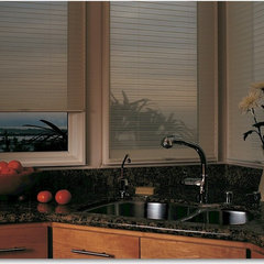 traditional cellular shades by Interior Expressions/ Nardelli Home Decor