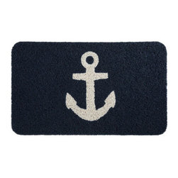 Tally Home Doormat - A nautical doormat will be perfect when I finally buy that beach cottage!