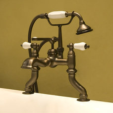Glenwood English Faucet with Variable Rim Mount Couplers