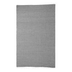 BrandWave - The Embacradero, Houndstooth, Black and White - Houndstooth originated in Scotland in the late 1800's, and traditionally only came in the color combination of black and white. As houndstooth is a signature BrandWave pattern, we have stayed true to tradition, and kept the simple black and white color in this rug.
