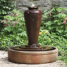 Mediterranean Outdoor Fountains And Ponds by Potted