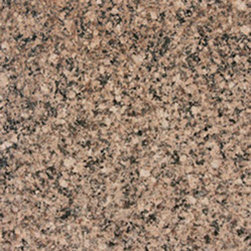 """Desert Brown Granite Polished Tiles 12"""" x 12"""" - 12"""" x 12"""" Desert Brown Solid Polished Finish Square Pattern Granite Flooring Tile. This beautiful granite tile features a smooth, high-sheen finish and a random variation in tone to help add style to your decor along with your bathroom vanity. Designed for floor, wall and countertop use, this granite tile is marginally skid resistant to suit your needs. Simply gorgeous tile."""