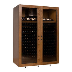 Villa Series 440 Bottle Sienna Wine Cabinet