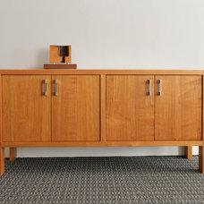 Modern Buffets And Sideboards by Hefner Woodworking + Sorkin Design