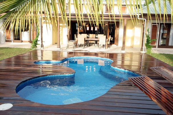 Tropical Pool by Charmaine Werth