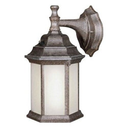 Illumine - Illumine Outdoor Lanterns. 1-Light Outdoor River Rock Frosted Lantern with Seede - Shop for Lighting & Fans at The Home Depot. The Burton Collection supplied by CLI features a wide variety of classic fixtures. If you are looking for a sensible way to dress up a room, there is no better choice than this 1-Light Outdoor Lantern in a River Rock Finish complimented by Frosted Seeded Glass Panels. From the modest chandeliers to the more rustic outdoor lighting, the Burton Collection will add a charming accent to any application.
