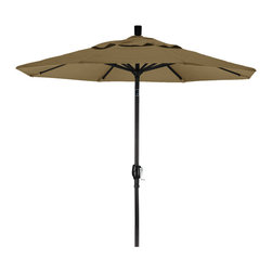 California Umbrella - 7.5 Foot Sunbrella Aluminum Crank Lift Push Tilt Patio Umbrella, Black Pole - California Umbrella, Inc. has been producing high quality patio umbrellas and frames for over 50-years. The California Umbrella trademark is immediately recognized for its standard in engineering and innovation among all brands in the United States. As a leader in the industry, they strive to provide you with products and service that will satisfy even the most demanding consumers.