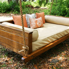 Rustic Outdoor Lounge Chairs by Vintage Porch Swings LLC