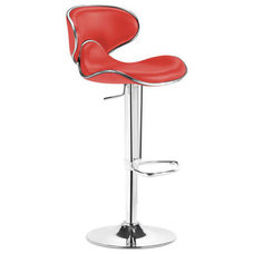 Contemporary Bar Stools And Counter Stools Fly Adjustable Barstool By Zuo Modern