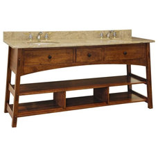 Traditional Bathroom Vanities And Sink Consoles by DutchCrafters Amish Furniture
