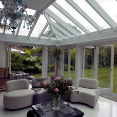 Contemporary Greenhouses by Town and Country Conservatories