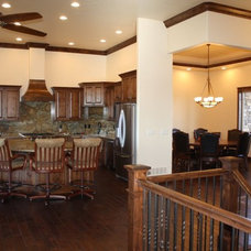 Traditional Kitchen by Schroetlin Custom Homes