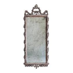 Uttermost - Uttermost - Via Giulia Mirror In Light Ivory/Gray Wash - 05030 - Via Giulia Collection Mirror