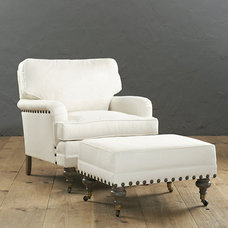 Transitional Armchairs by Ballard Designs