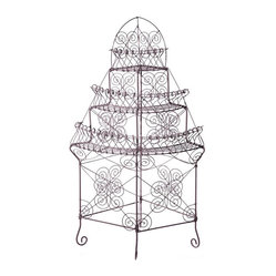Jardiniere Corner - garden decoration - for the garden - furniture
