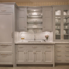 Transitional Kitchen by Georgio Home