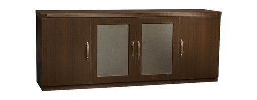 Mayline - Mayline Aberdeen Low Wall Cabinet in Mocha - Mayline - Storage Cabinets - ALCLDC - The Aberdeen Series of laminate casegoods combine fashionable aesthetics and unparalleled quality all in a package that is surprisingly affordable.Aberdeen's transitional style allows it to fit into any environment whether it be modular multi-station work areas or executive offices. Aberdeen provides exceptional abrasion and stain resistance along with technology and cable friendly components.   Features: