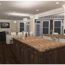 Traditional Rendering by Case Design/Remodeling, Inc.