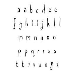 Stencil Ease - Escapade Alphabet Stencil - Escapade Alphabet - Lowercase - includes a-z lowercase an extra a e i l m n o p r s and t and 3 blanks. Comes with 40 individual sheets of durable reusable plastic.