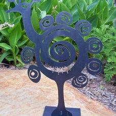 Eclectic Garden Statues And Yard Art by gardendeva.com