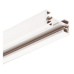 Juno Lighting - Juno T4 Trac-Master 4-ft One-Circuit Track - Low-Profile, single-circuit trac sections for surface or pendant mounting.