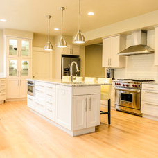 Contemporary Kitchen by John Webb Construction and Design