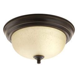 "Progress Lighting - Progress Lighting P3924-EUL 11-3/8"" Single Light Flush Mount Ceiling Fixture - Features:"