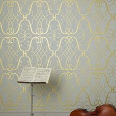 Eclectic Wallpaper by Osborne & Little
