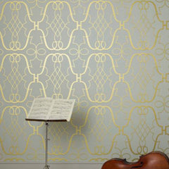 eclectic wallpaper by Osborne &amp; Little