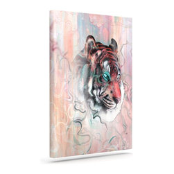 """Kess InHouse - Mat Miller """"Illusive by Nature"""" Wrapped Art Canvas (12"""" x 10"""") - Bring your outdoor patio to life with this artistic outdoor canvas wrap featuring gorgeous artwork by KESS InHouse. These canvases are not only easy to hang and remove but also are the perfect addition to your patio collection. These canvases are stretched around a wooden frame and are built to withstand the elements and still look artistically fabulous. Decorating your patio and walls with these prints will add the splash of art and color that is needed to bring your patio collection together! With so many size options and artwork to choose from, there is no way to go wrong with these KESS Canvas Wraps!"""