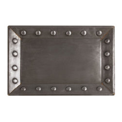 "Arteriors - Arteriors Home - Baker Tray - 2039 - Arteriors Home - Baker Tray - 2039 Features: Baker Collection TrayBrass FinishNatural ColorIron and Brass construction Some Assembly Required. Dimensions: 30"" W X 2"" D X 20"" H"