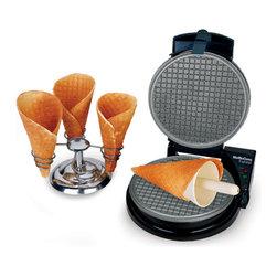 Chef'sChoice - Chef'sChoice International WaffleCone Express - M838 - ChefsChoice® International™ WaffleCone Express™ #838