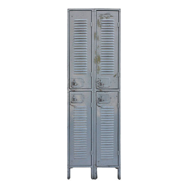 ... metal locker unit. Furniture > Armoires, Cabinets, & Dressers